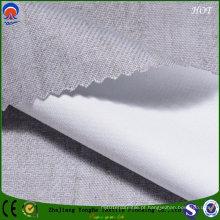 Impermeável chama Retardant revestimento tecido de poliéster para cortina de janela da fábrica de têxteis