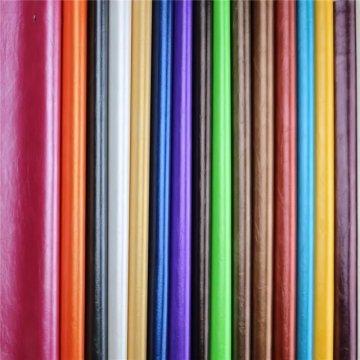 Incrível qualidade de cera de petróleo PU PVC couro sintético para sofá (898 #)