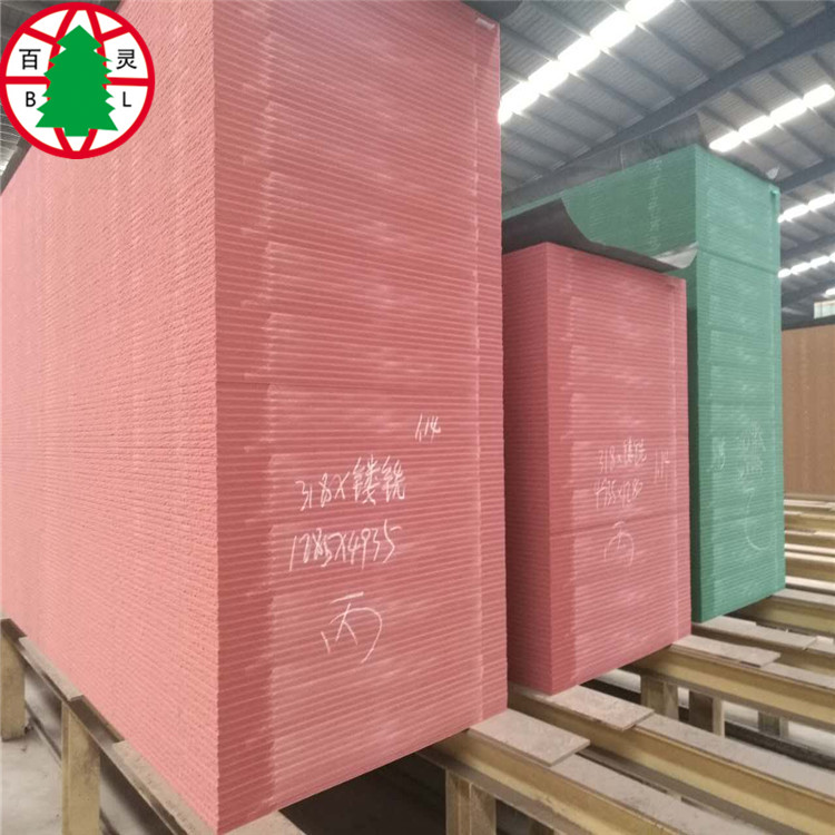High Grade Pink/Fire Retardant /Fire Proof MDF panels