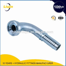 Fully stocked factory supply (87391) 90 degree sae flange 3000 psi hydraulic hose fitting