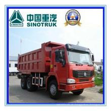 Sinotruk HOWO 6 X 4 Camião basculante pesado 290HP Zz3257m3847W / M
