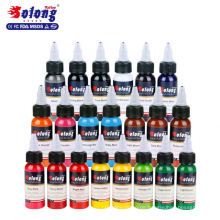 Solong Tattoo 21 Farben Professionelle beste Permanent Make-up Pigment Tattoo Ink