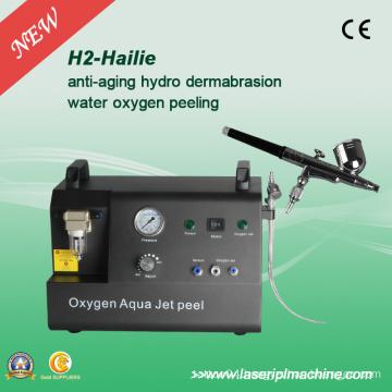 H2 Hydro Facial Oxygen Jet Peel Oxygen Peel Skin Dermabrasion Machine