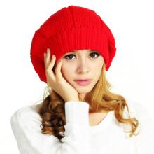 POM POM 100% Шерстяные вязаные шапочки