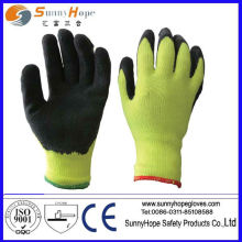 heavy thermal latex coated winter use glove
