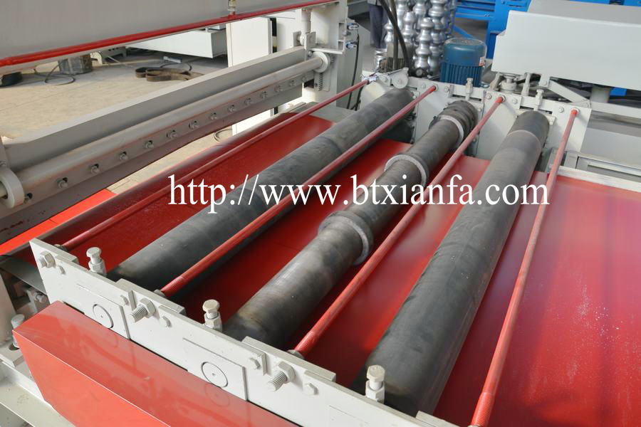 Color Steel Coil Uncoil Leveling slitting Recoiling Line