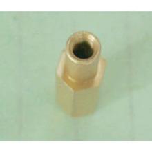 ГБ запасная часть меди (цилиндр) с поворотом, нарезание резьбы, пассивирование