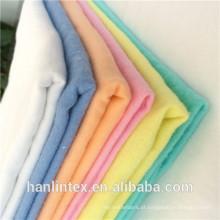Impressão polar 100% algodão 21 * 10 tecido de flanela de lã de algodão