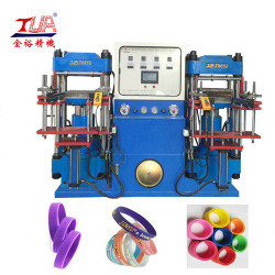 Multicolor Silicone Wristband Heating Press Making Machine