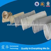 Saco de filtro revestido a Teflon para poeira de cimento