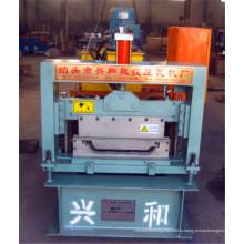 Профилегибочная машина для производства цветных металлических панелей нового типа с автоблокировкой