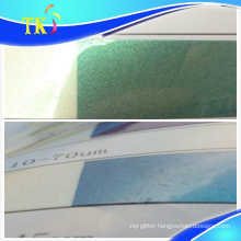 Anti-counterfeit pigment Green to blue / use for anti-counterfeiting labels.