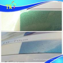 Pigmento anti-contrafacção Verde a azul / use para etiquetas anti-contrafacção.