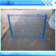 Покрынная PVC Загородка ячеистой сети