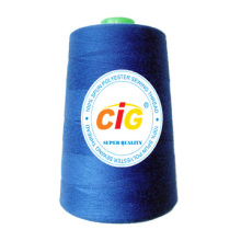 100% polyester fil de couture 40/2, 3000yds