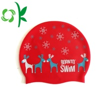 Personalized Silicone Ear Protection Design Swim Cap Hat