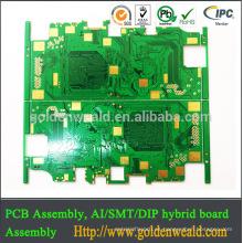 shen zhen PCB electrónico fabricante y ensamblaje pcb de aluminio