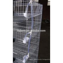 Galvanzied Iron Mesh Metal Quail farming Cage Sale