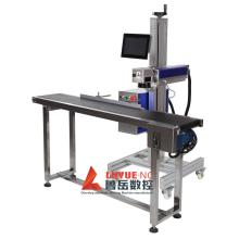 Máquina de marcação a laser ultravioleta para voo em linha de produção