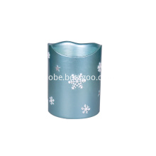 Table Fountain Candle Snowflakes