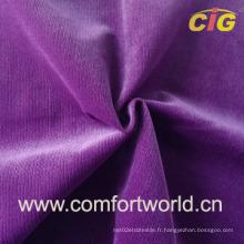 Tissu à tricoter en tissu à rayures (SHSF03934)
