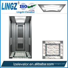 Villa Elevator with Silvery Mirror Etching