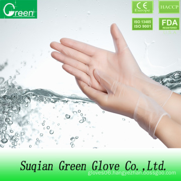 Clear Single Use Vinyl Glove