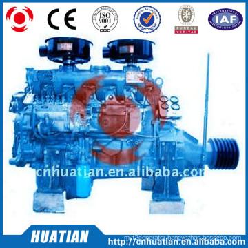 60kw/81.6hp Diesel Engine with clutch belt pulley R6105P