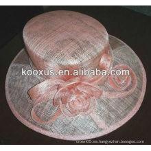 Sombreros sinamay cóctel / sombreros de vestir / sombreros de novia