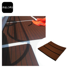Dark Brown + Black UV Resistant EVA Foam Marine Boat Flooring