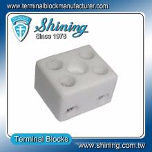 TC-202-A High Temperature 20A 2 Way Electric Ceramic Terminal