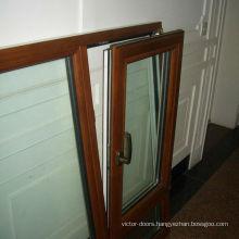 Cheap price double hung window for sale Guangdong Foshan wanjia door and window co. ltd