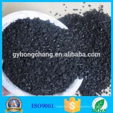 Tipo de adsorvente e carvão ativado granular à base de casca de coco