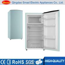 home custom colorful single door mini fridge freezer
