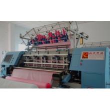 Saco de dormir nuevo Yuxing, la máquina que acolcha, máquina que acolcha de la multi-aguja transporte con CE certificada
