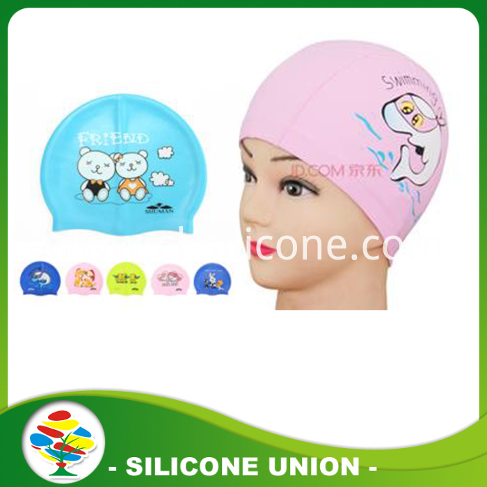 baby silicone swimming cap