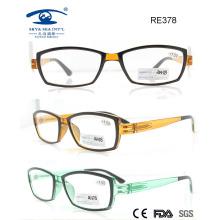 Colourful Fashionable Plastic Reading Glasses (RE378)