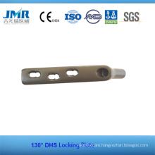 China Fully Stocked Titanium Dhs Locking Plate
