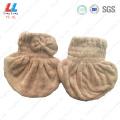 Microfiber Hair dry cap towel sponge