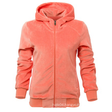 New Arrived LED Light Knitted Hoodies with Zipper