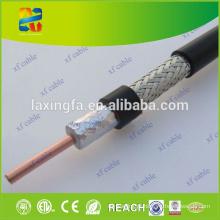 China que vende o cabo coaxial duplo do preço baixo Rg11 da alta qualidade