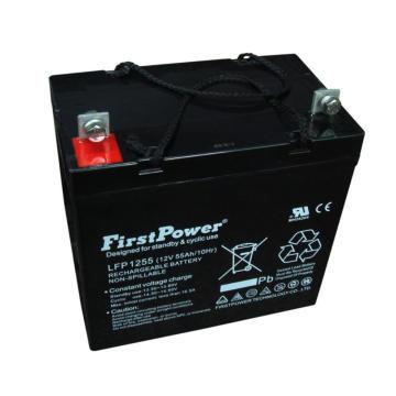 Bateria profunda 12V55AH do GEL do PVC das comunicações do ciclo da reserva