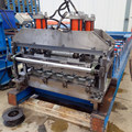 Metalen dakplaat productieproces machine