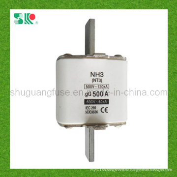 NH3 (NT3) 500A H. R. C Low-Voltage Fuse