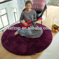 modern round large bath carpet rug