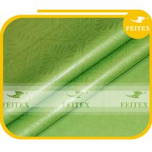 2015 Chine usine haute qualité Jacquard imprimé tissu damassé de FEITEX brocade bazin