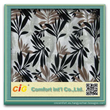 El último diseño popular reunió la tela de la cubierta del sofá de la tapicería del poliéster del estilo