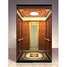 Ascenseur de passagers luxueux approuvé par SGS