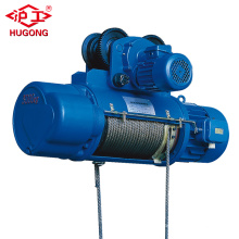 Small pulleys electric motor CD1 type wire rope hoist