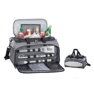 Set barbecue da campeggio 3 in 1 per barbecue